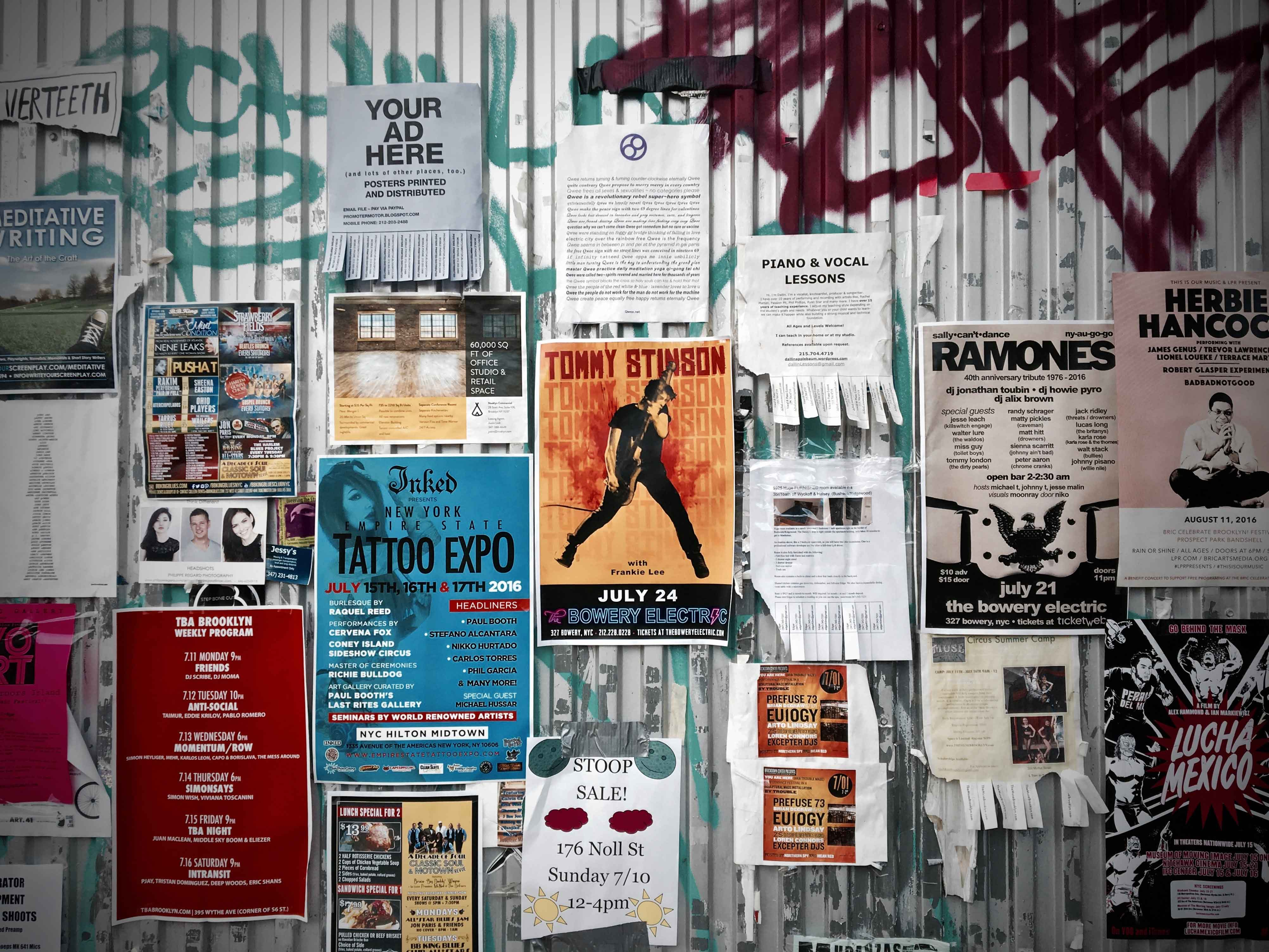 How Effective are Posters in Advertising