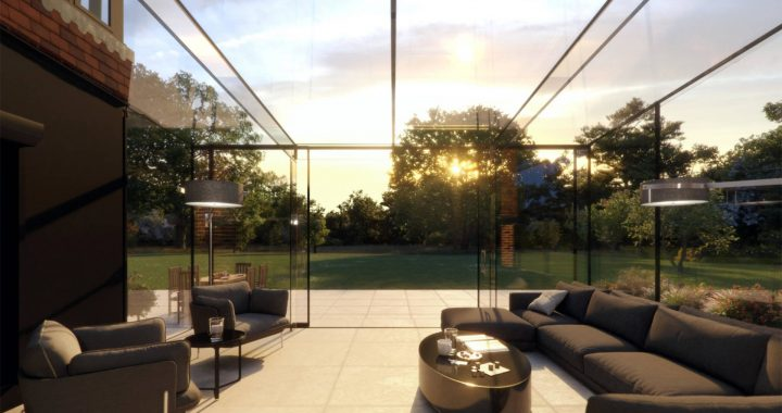 How much value can a glass extension add to your property?