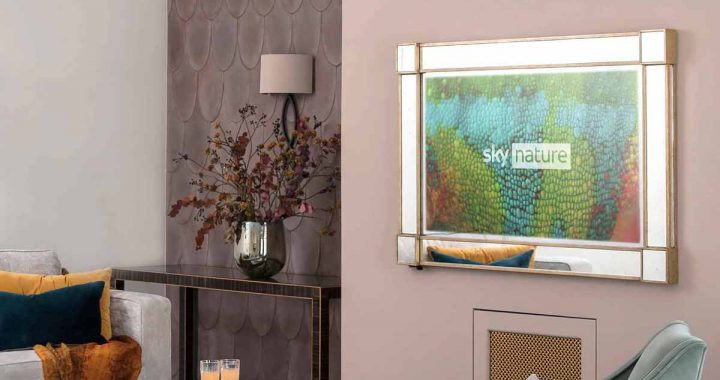 Why are TV mirrors so popular in the UK?